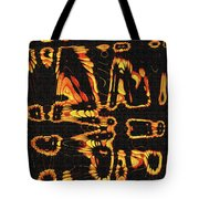 Tomatillo Abstract Tote Bag