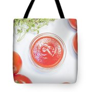 Tomato Sauce Bowl Tote Bag