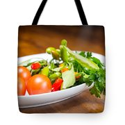 Tomatoes And Hot Peppers With Parsley Fresh From The Garden Tote Bag