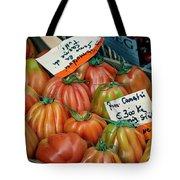 Tomatoes At Market Tote Bag