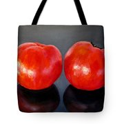 Tomatoes Original Oil Painting Tote Bag