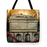 Tomb Of Dom Henrique Tote Bag