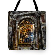 Tomb Of Pope John Paul II In St Peter's Basilica Tote Bag