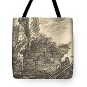 Tomb Of The Three Curiatii Brothers In Albano Tote Bag