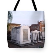 Tombs In St. Louis Cemetery Tote Bag