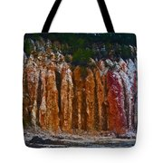 Tombs Land Formation Tote Bag