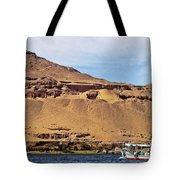 Tombs Of The Nobles Aswan Tote Bag