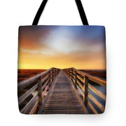 Tomorrow Never Knows Tote Bag