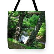 Toms Creek In Summer 3 Tote Bag