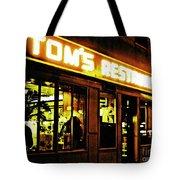 Tom's Restaurant Tote Bag