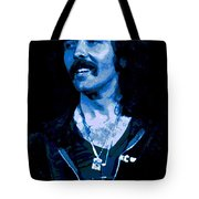 Cosmic Blue Fluff Tote Bag