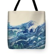Too Blue Tote Bag