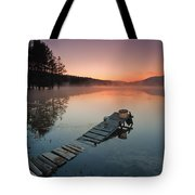 Too Early For Fishing Tote Bag