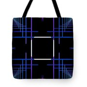 Too Hip To Be Square Tote Bag