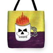 Too Hot To Handle Tote Bag by Beth Cornell