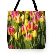 Too Many Tulips Tote Bag