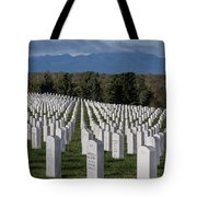 Too Many.. Veteran Cemetery, Santa Fe Tote Bag