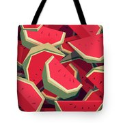 Too Many Watermelons Tote Bag