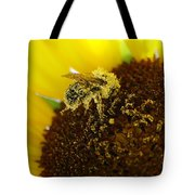 Too Much Pollen Tote Bag