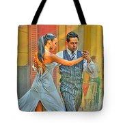 Too Tango Tote Bag