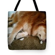 Too Tired For Treats Tote Bag