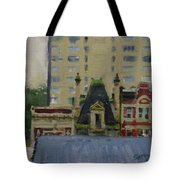 Too Wet To Paint Outdoors  Tote Bag