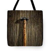 Tools On Wood 18 Tote Bag