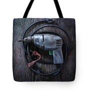 Tools On Wood 29 Tote Bag