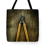 Tools On Wood 34 Tote Bag