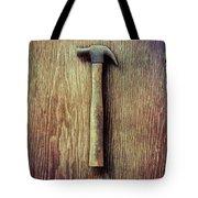 Tools On Wood 53 Tote Bag