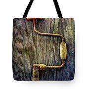 Tools On Wood 58 Tote Bag