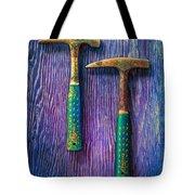 Tools On Wood 65 Tote Bag