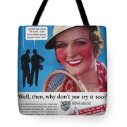 Toothpaste Ad, 1932 Tote Bag by Granger