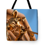 Tooting His Own Horn Tote Bag