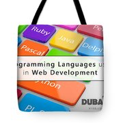 Top 5 Web Development Languages Every Web Developer Needs To Know  Tote Bag
