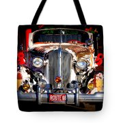 Top Model On Route 66 Tote Bag