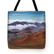 Top Of Haleakala Crater Tote Bag
