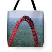 Top Of Intimidator 305 Rollercoaster Tote Bag