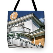 Top Of Large Residence In Marion 7986t Tote Bag