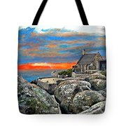 Top Of Table Mountain Tote Bag