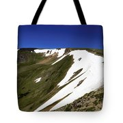 Top Of The Cirque Tote Bag
