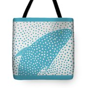 Top Of The Dotted Whale Tote Bag by Deborah Boyd