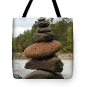 Top Of The Stack Tote Bag