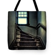 Top Of The Stairs Tote Bag