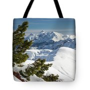 Top Of The Top - Lombardy / Italy Tote Bag