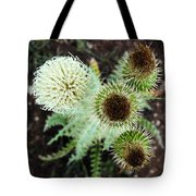 Top Thistle  Tote Bag
