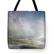 Topic Of Duality Winter-summer Tote Bag
