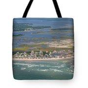 Topsail Island Migratory Model Tote Bag