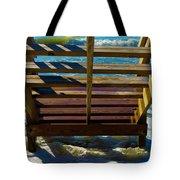 Topsail Island Ocean Steps Tote Bag