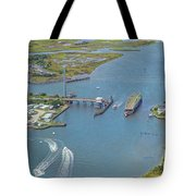 Topsail Island Top Of The Hour Tote Bag